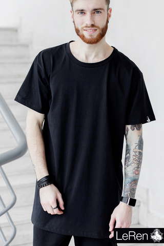 Футболка LeRen Long Basic Black