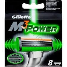 Сменные кассеты для бритья Gillette Mach3 Power (8 шт)