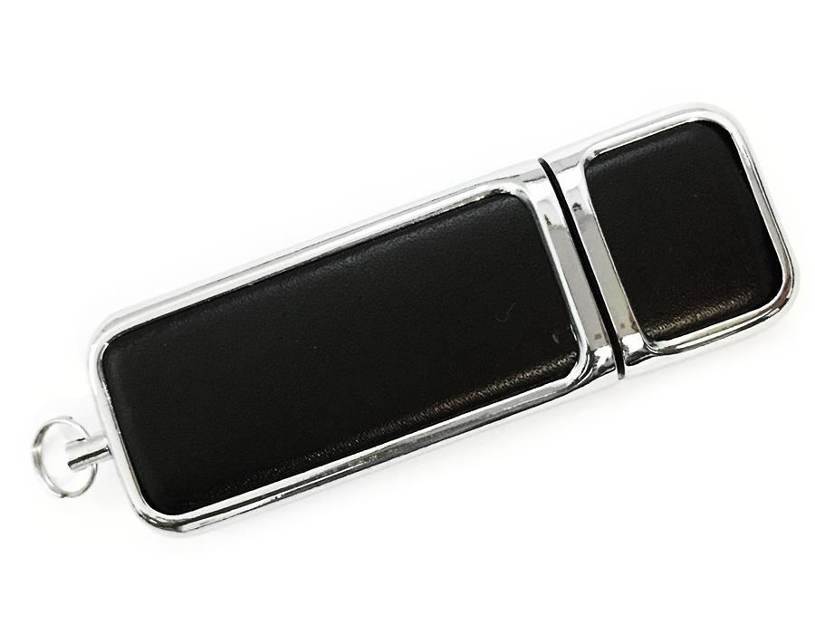 usb-флешка кожаный брусок