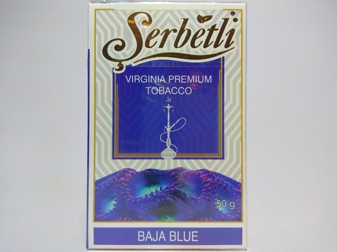 Табак для кальяна SERBETLI Baya Blue 50gr
