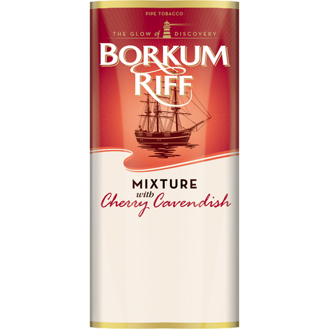 Трубочный табак Borkum Riff Mixture with Cherry Cavendish