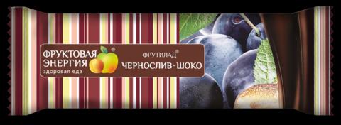 """Фруктовый батончик Фрутилад """"Чернослив-шоко""""50г"""