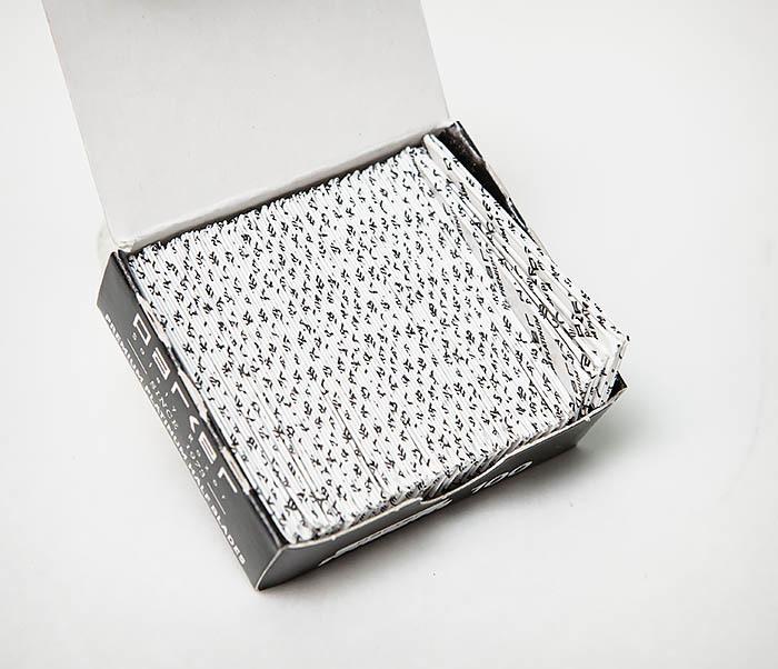 RAZ495 Лезвия для шаветки половинки «PARKER» Premium Platinum (100 шт) фото 06