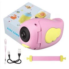 Детская Видеокамера (экшн-камера) HD розовая