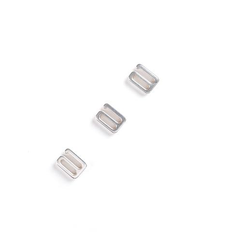 Крючок для бретели серебро 10 мм (металл) luxe