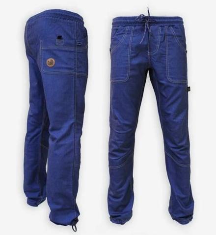 Брюки для скалолазания Hi-Gears Mega Yugi 4 season blue jeans (синие джинсы)