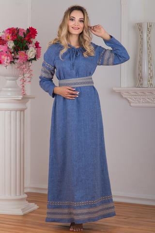 Платье Льняной дождь от Иванки