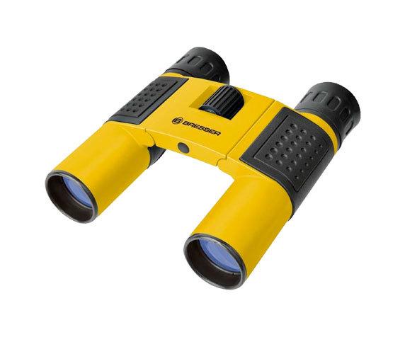 Бинокль Bresser Topas 10x25 Yellow - фото 1