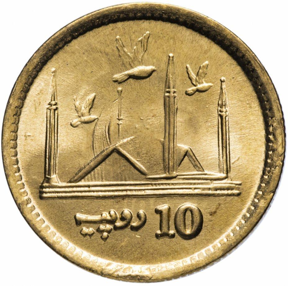 10 рупии. Пакистан. 2016 год. AU-UNC
