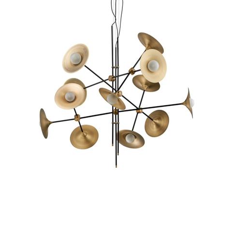 Подвесной светильник копия Bullarum ST with Disc by Intueri Light