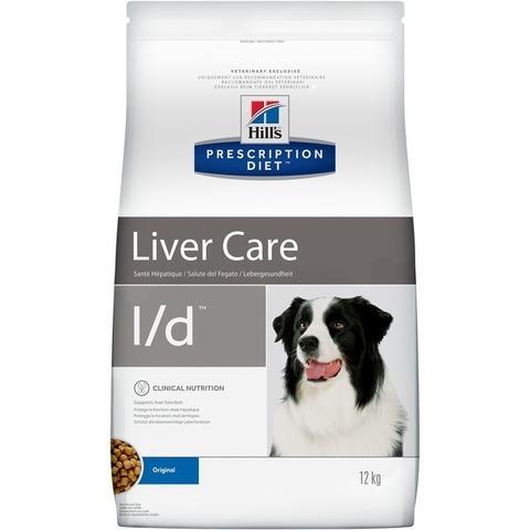 Корм Hill's Prescription Diet l/d Liver Care Сухой диетический корм для собак при заболеваниях печени 5 кг