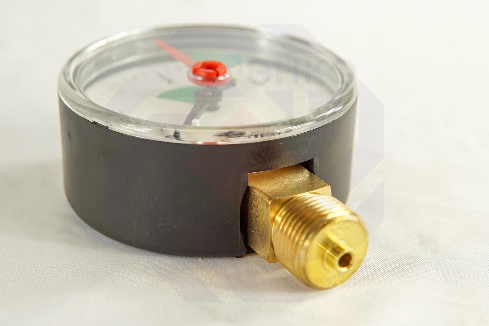 Манометр радиальный WATTS MHR 63/4 (F+R201) 0-4 бар 63 мм ⅜