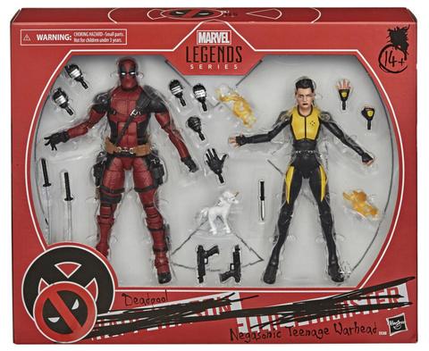 Marvel Legends Deadpool and Negasonic Teenage Warhead  || Дэдпул и Сверхзвуковая Боеголовка