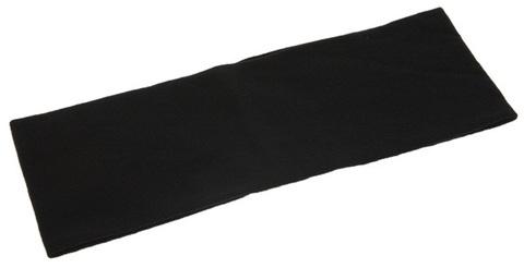 Лента ST TROPEZ для волос широкая черная