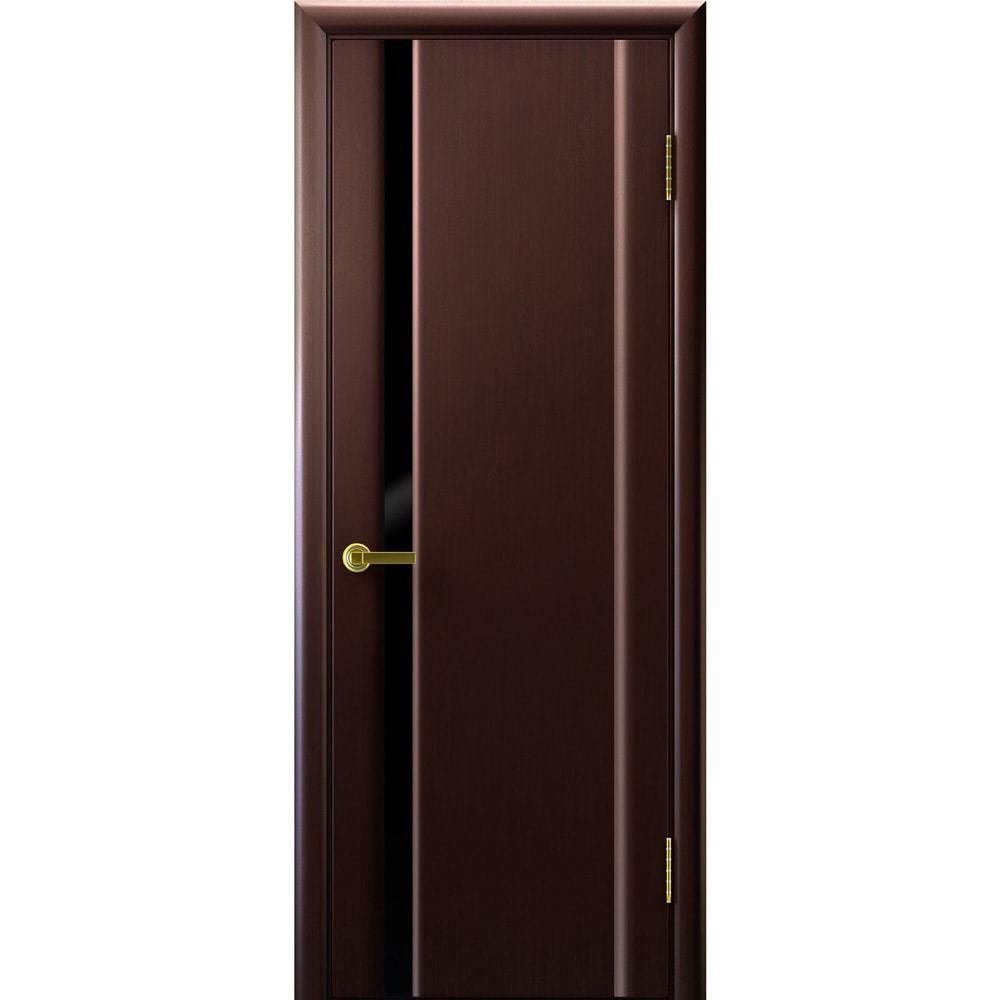 Венге Межкомнатная дверь шпон Legend Синай 1 венге с чёрным стеклом tehno-1-po-black-venge-dvertsov-min.jpg