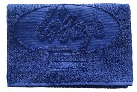 Полотенце синее для парикмахеров BLUE LISAP TOWEL