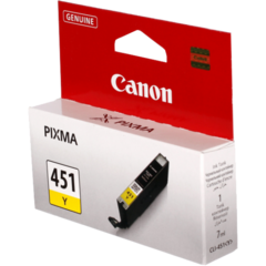 Картридж Canon CLI-451Y