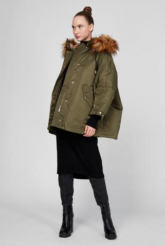 Женская зеленая куртка W-FLORES Diesel