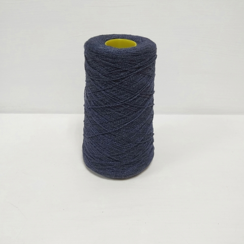 Lana Verg, Меринос 100%, Темно синий с синим, 750 м в 100 г