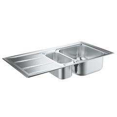 Мойка кухонная с двумя чашами Grohe K400+ 31569SD0 фото