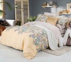 Сатиновое постельное бельё  1,5 спальное Сайлид  В-181