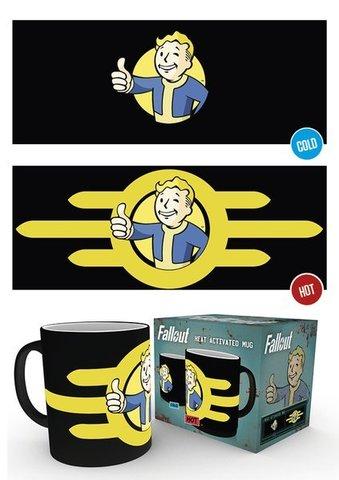Кружка-хамелеон Fallout (Vault Boy)