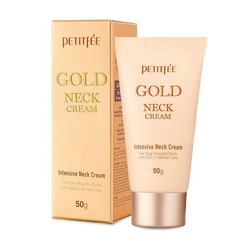 Petitfee Крем для шеи с золотом GOLD NECK CREAM 50 мл