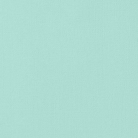 Текстурированный кардсток 30х30 American Crafts Textured Cardstock - Цвет Seafoam