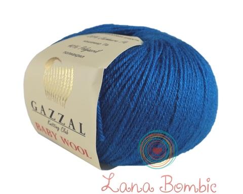 Пряжа Gazzal Baby Wool 822 бирюза