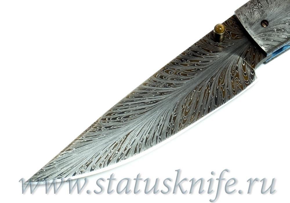Нож Kevin Casey Damascus Tasmanian - фотография