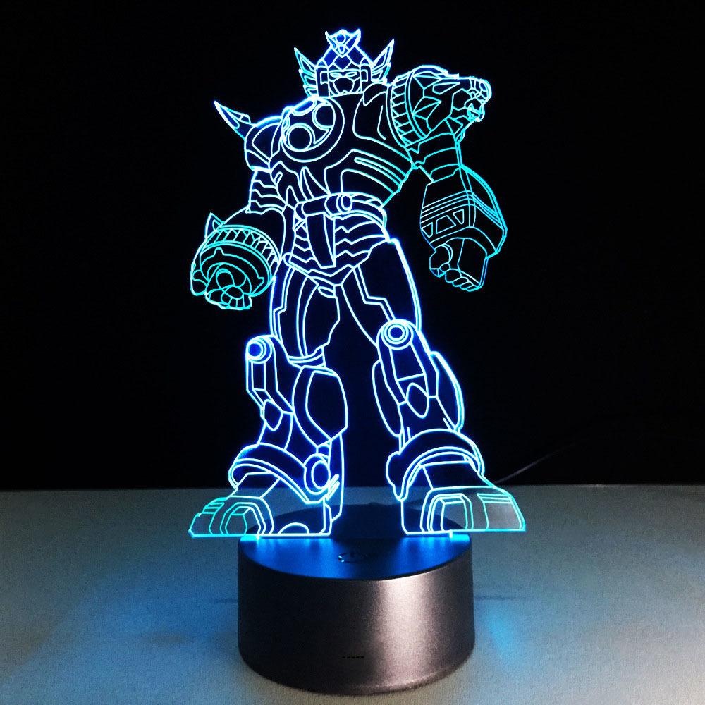 3D светильник Трансформер — 3D light Transformer