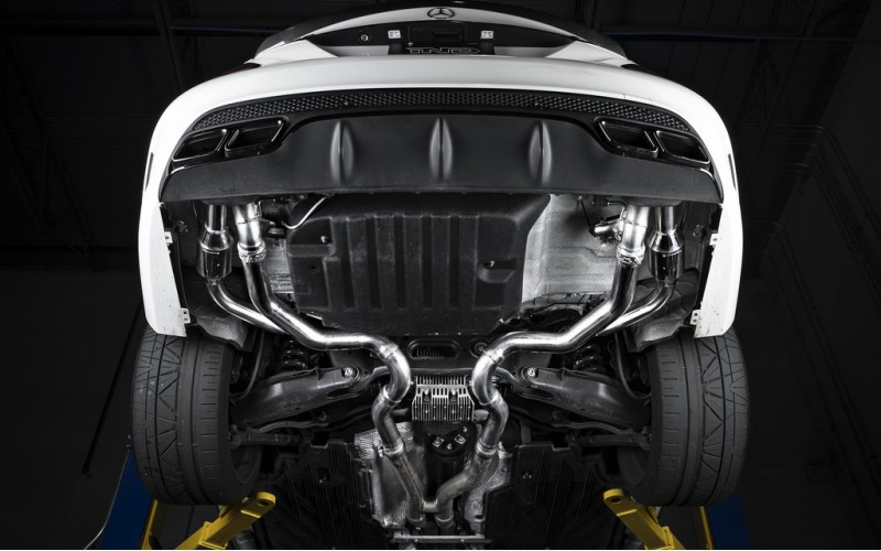 Выхлопная система Eisenmann для Mercedes C63 AMG W205