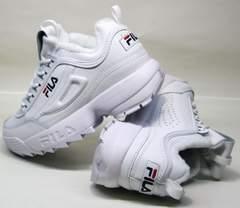 Стильные женские кроссовки Fila Disruptor II