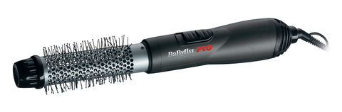 Фен-щетка BaByliss Pro Titanium Tourmaline, 700 Вт, 1 насадка (32 мм), черная