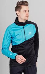 Утеплённая лыжная куртка Nordski Premium Blue-Black