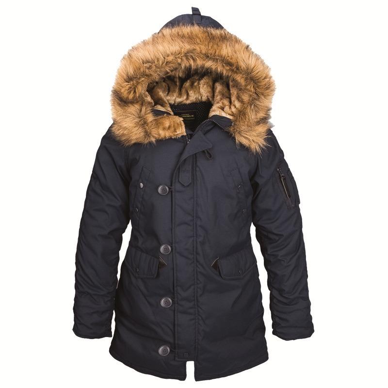 Куртка Аляска Женская - Altitude W Parka  (т.синяя - blue)
