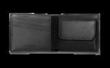 Carandache Haute Maroquinerie черный натуральная кожа 4 отделения для карт (6208.009)