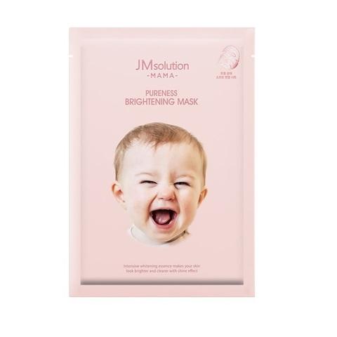 Гипоаллергенная Осветляющая Тканевая Маска  JM SOLUTION Mama Pureness Brightening Mask