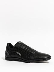 Кожаные кроссовки Alexander Hotto 56402 черный