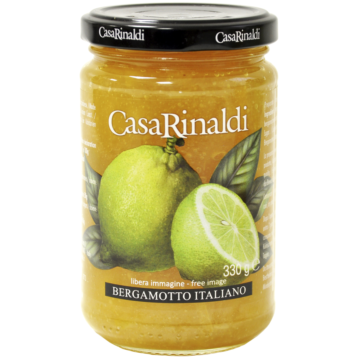 Конфитюр Casa Rinaldi из Бергамота 330г