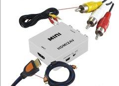 Видео Конвертер HDMI-RCA(тюльпаны),переходник