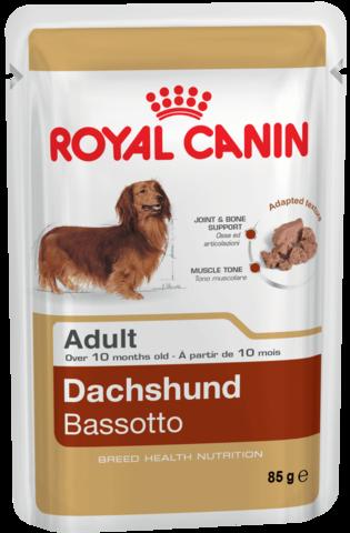 Royal Canin DACHSHUND ADULT паштет для собак породы такса