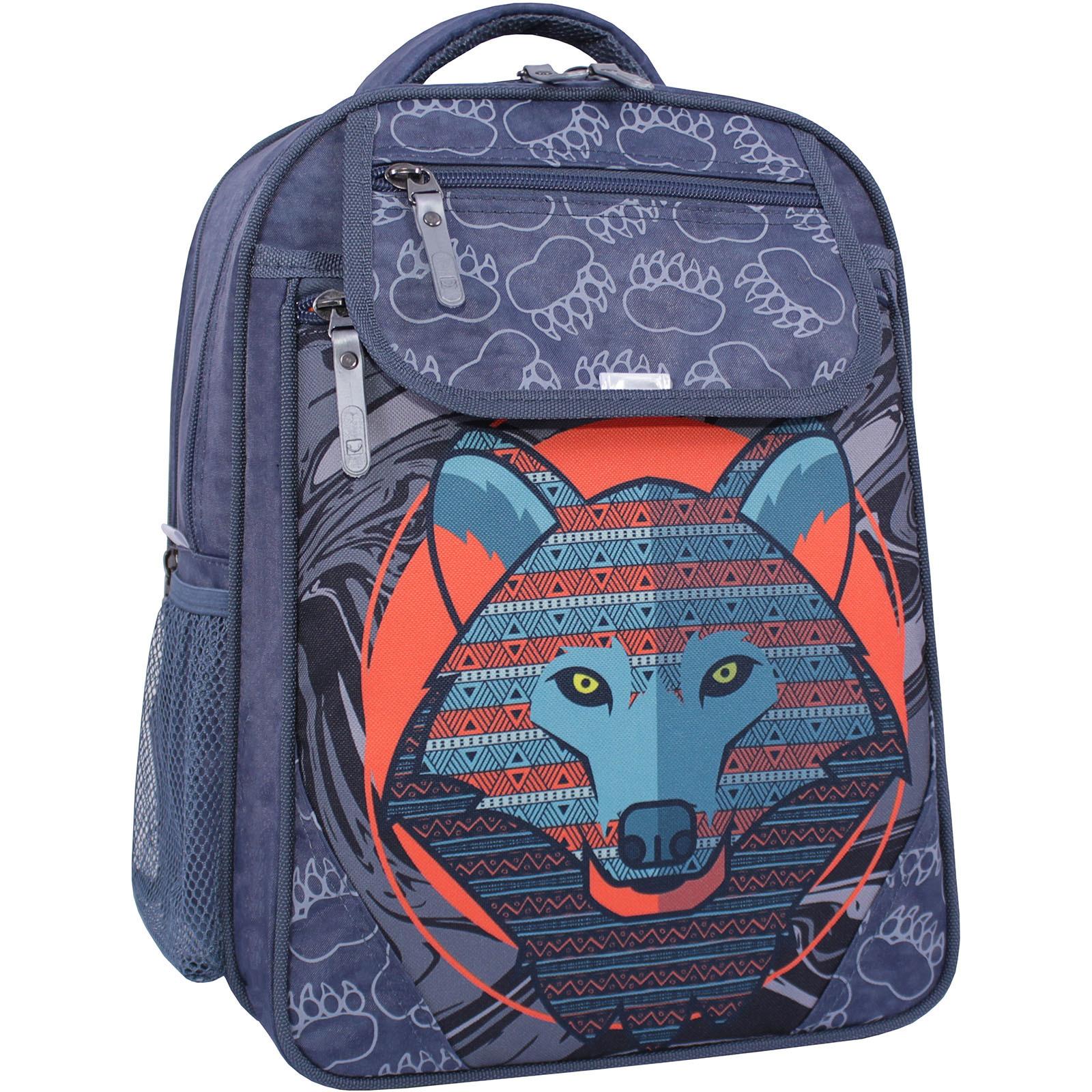 Детские рюкзаки Рюкзак школьный Bagland Отличник 20 л. 321 серый 509 (0058070) IMG_1269_суб.509_.JPG