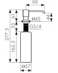 Дозатор Kaiser KH-300 схема