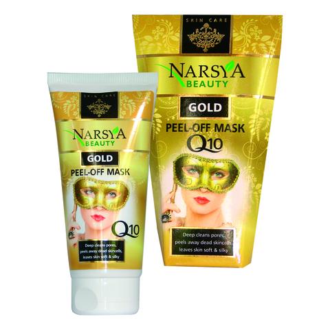 Золотая маска-пленка для лица Q10