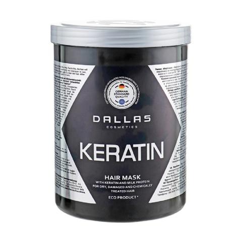 Dallas Крем маска KERATIN с Кератином и молочными протеинами, 500 мл.