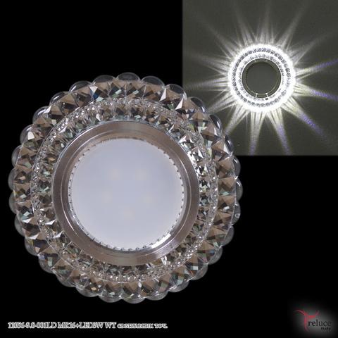 11056-9.0-001LD MR16+LED3W WT светильник точ.