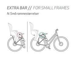 Штанга для установки на рамы малых размеров Hamax Kiss/Sleepy/Smiley - 2