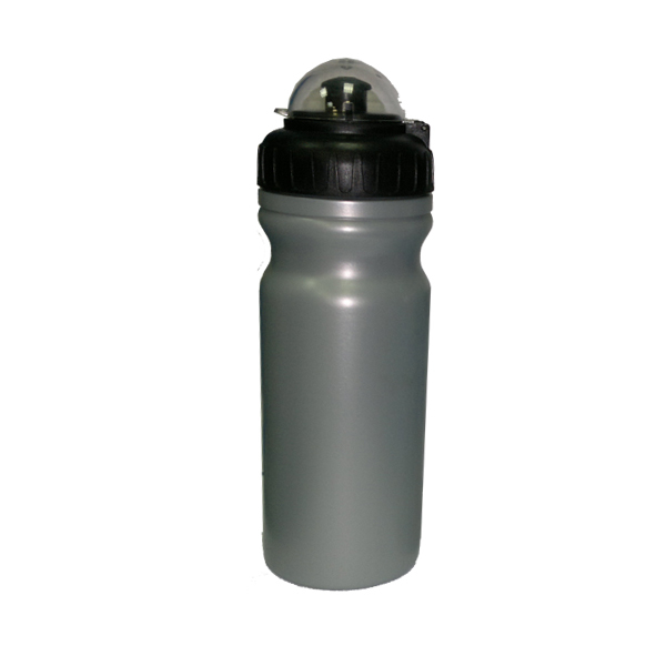 Велофляга CO-Union CB-1580 пластиковая серебристая 0,65л
