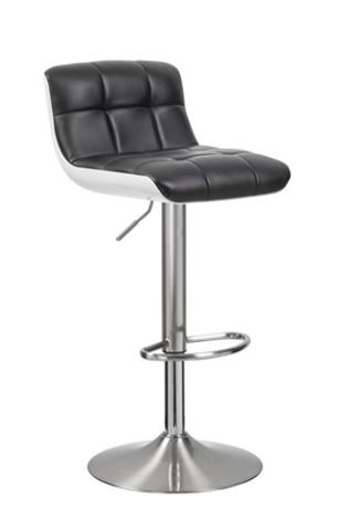 Стул барный WY-205Q металлический серый, белый